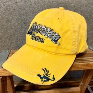 Corona Extra Embroidered Yellow Ball Cap Hat